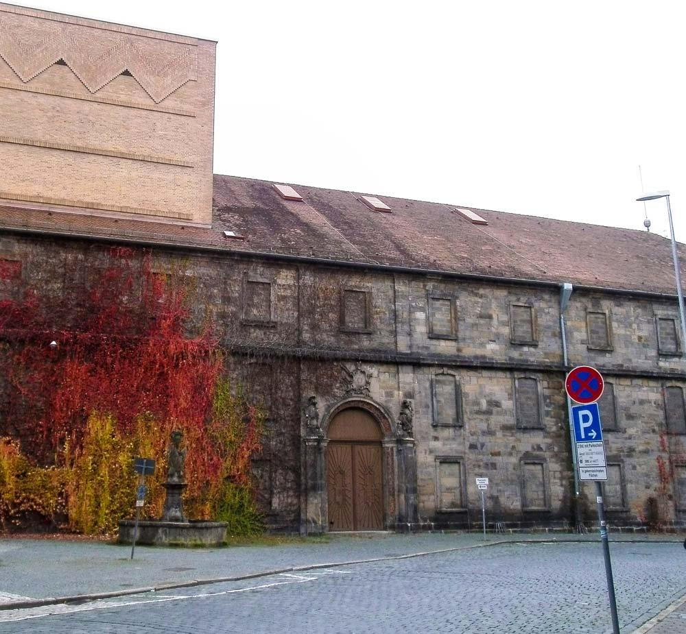 Markgr fliche prachtbauten in bayreuth friedrichstrasse for Depot bayreuth